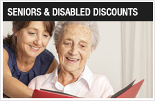 Seniors & Disabled Discount